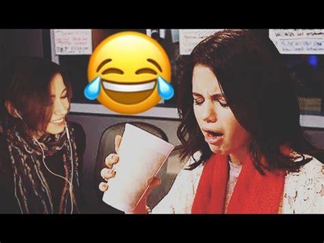 SELENA GOMEZ FUNNY AND CUTE MOMENTS (Reaction AKA ...
