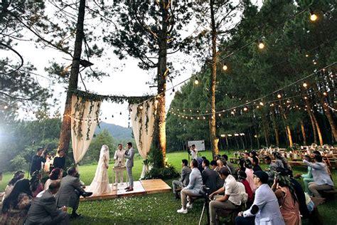 tempat resepsi pernikahan outdoor  jakarta bogor