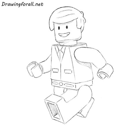 draw  lego man drawingforallnet