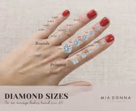 average engagement ring size sizes archives miadonna miadonna simulated diamonds
