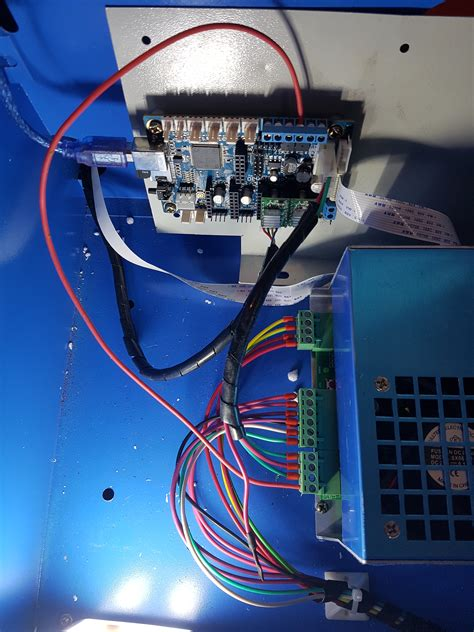 k40 laser cutter gin and tronic
