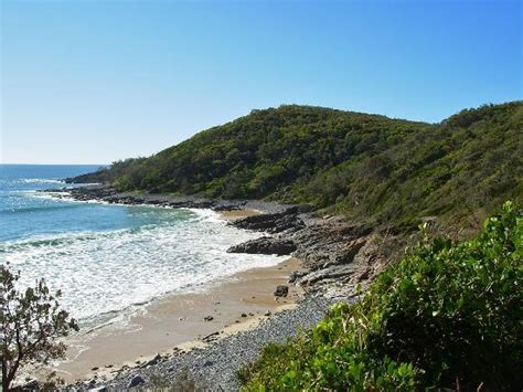 stunning granite bay in noosa national park picture of