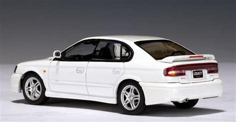 subaru autoart autoart 1999 subaru legacy b4 white 58612 in 1 43