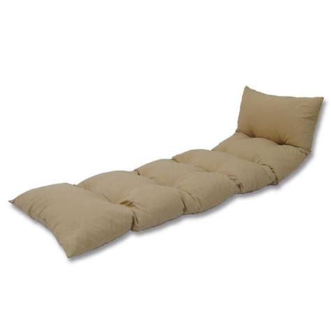 matelas pour chaise longue coussin bain de soleil floconné chanvre oogarden
