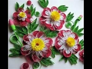 Blumen Aus Papier : blumen aus papier selber machen quilling technik youtube quilling pinterest blumen aus ~ Udekor.club Haus und Dekorationen