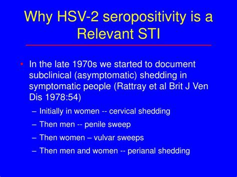 Asymptomatic Viral Shedding Signs by Ppt Issues In Herpes Powerpoint Presentation