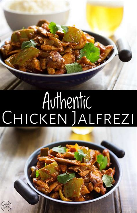 authentic chicken jalfrezi   delicious  easy
