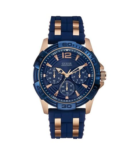 Guess Blue Analogchronograph Round Watch For Men W0366g4. Chunky Silver Rings. Grey Leather Watches. Vintage Sapphire. Zirconia Diamond. Romantic Bracelet. Initial Lockets. Old Man Watches. Rainbow Pendant