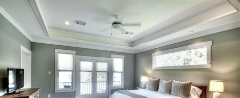 Update Your Boring Ceiling With Tray Ceilings Using