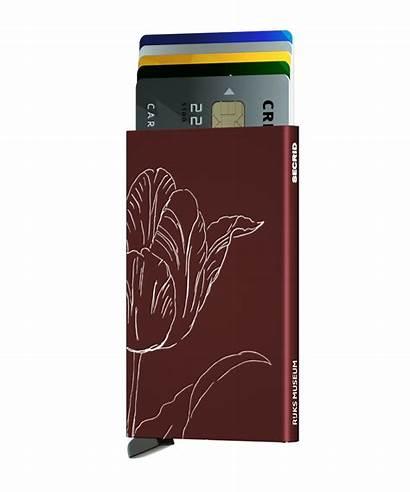 Bordeaux Tulip Cardprotector Tulp Secrid