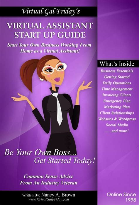 virtual assistant start  guide full color