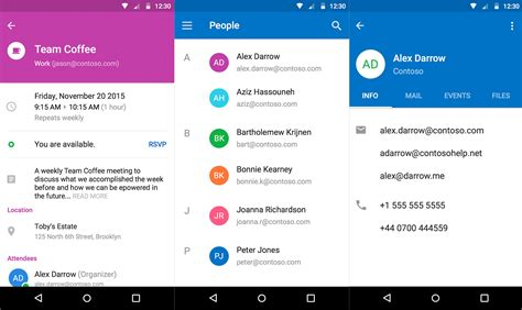 outlook android app microsoft merges outlook and apps on android and