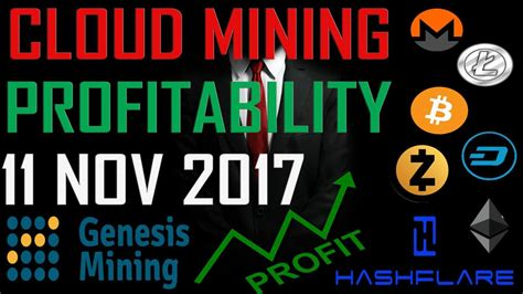 cloud mining profitability cryptocurrencies cloud mining profitability update 11