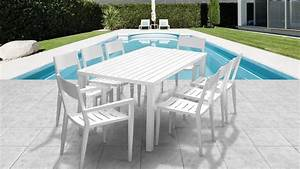 Table De Jardin Avec Chaise Pas Cher : table de jardin avec chaise menuiserie ~ Teatrodelosmanantiales.com Idées de Décoration