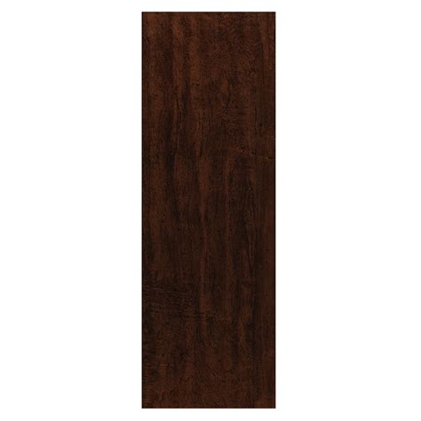 wood tile lowes shop style selections colonial wood walnut wood look