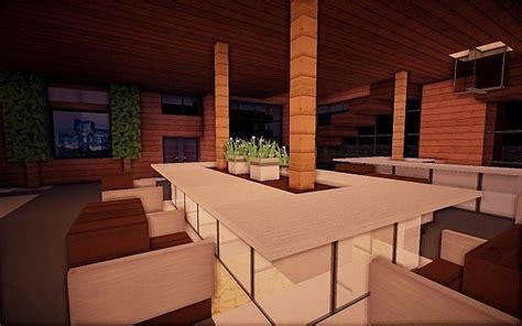 squared modern home design building ideas patio pool  minecraft house designs minecraft
