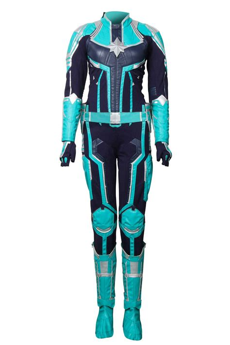 Captain Marvel Costume Carol Danvers Cosplay Outfit MS ...