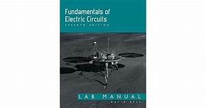 Fundamentals Of Electric Circuits  Lab Manual By David A  Bell