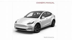 Tesla Model Y Owner U0026 39 S Manual  Read All 226 Pages Right Here