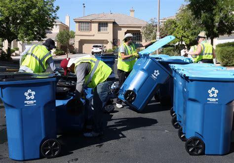 New Trash, Recycling Bins Rolling Into The City Of Las Vegas  Las Vegas Reviewjournal
