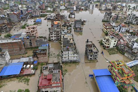 bhaktapur  thimi inundated photo setopati nepals