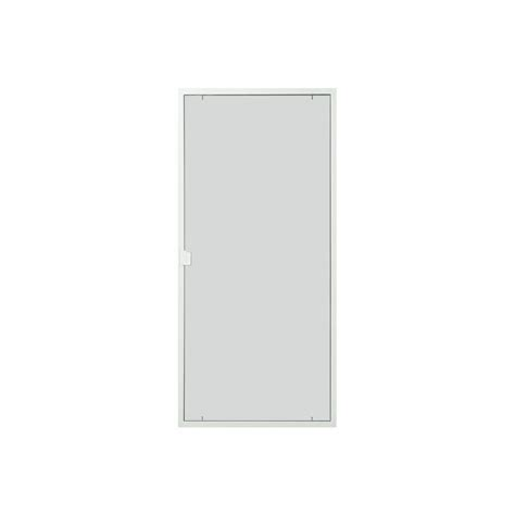 shop thermastar by pella 10 25 white vinyl screen door