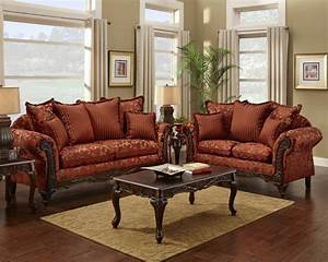 red floral print sofa and loveseat traditional sofa set With sofa bed and loveseat set