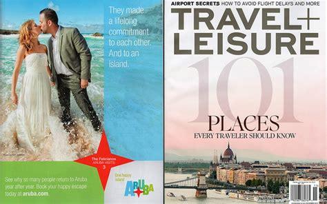 Aruba Wedding Photography In Travel Leisure Magazine