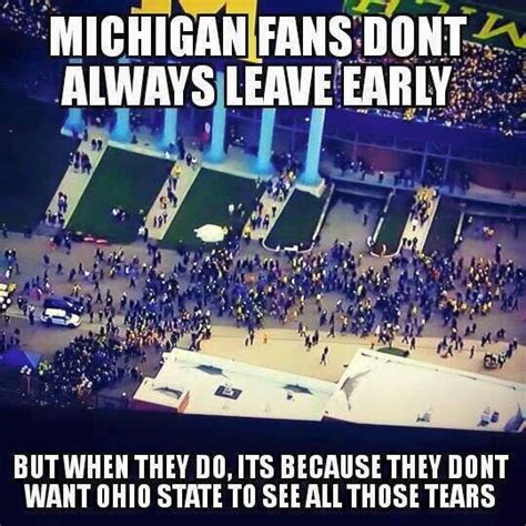 Ohio State Michigan Memes - 26 best images about because michigan sucks on pinterest ohio state michigan football and