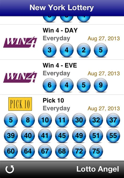 new york lottery post for android ny winning lottery winning lotto numbers az