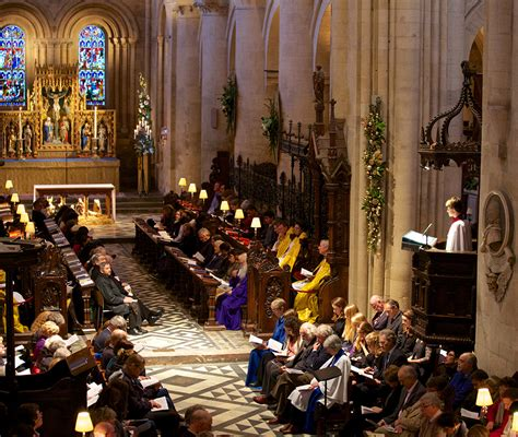 cathedral services christ church oxford university