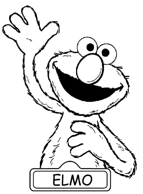 elmo coloring pages  print coloring pages  print
