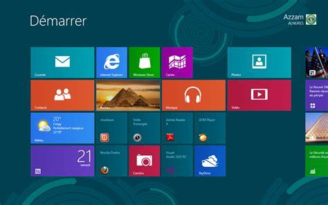 image bureau windows windows 8 démarrer windows 8 directement sur le bureau