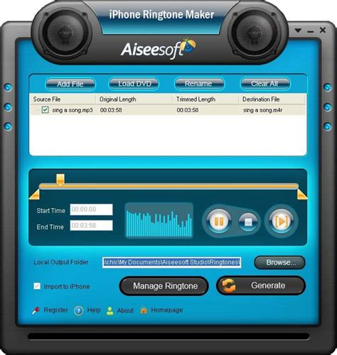 It supports all ios devices and delivers 4k ultra hd, with subtitles. Computer Media: Aiseesoft iPhone Ringtone Maker 3.3.20