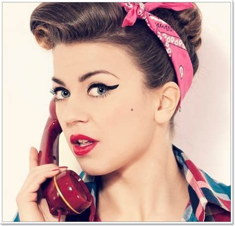 50s Vintage Hairstyles by 81 Hairstyles For The 50s Era