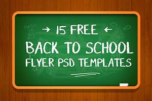 16 Free Back To School Flyer Psd Templates