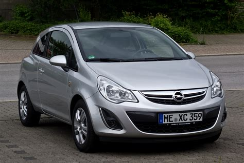 opel corsa d sportauspuff 2012 opel corsa d pictures information and specs auto database