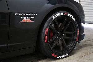 custom tire stickers top bottom tire stickers With goodyear raised yellow letter tires