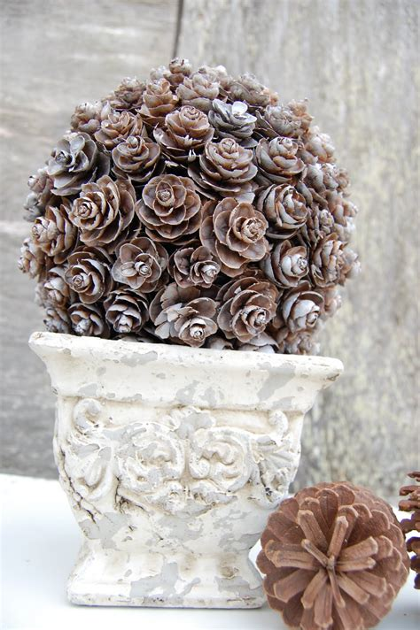 Pine Cone Topiary - Somewhat Simple