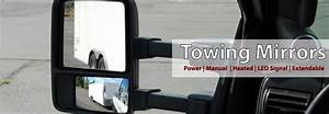 Factory Style Tow Mirror