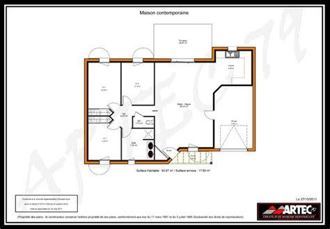 plan plain pied 4 chambres plans de maisons constructeur deux sèvres