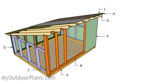 Hog Barn Plans by Pig Shelter Plans Myoutdoorplans Free Woodworking
