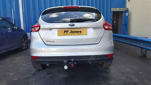 Ford Focus Hatchback Mar 2011 Onwards Fixed Flange Tow Bar
