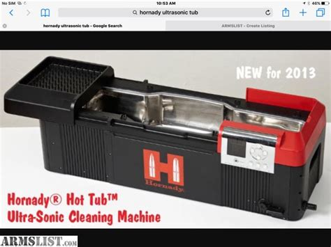 ultrasonic tub armslist for sale hornady lock n load tub sonic