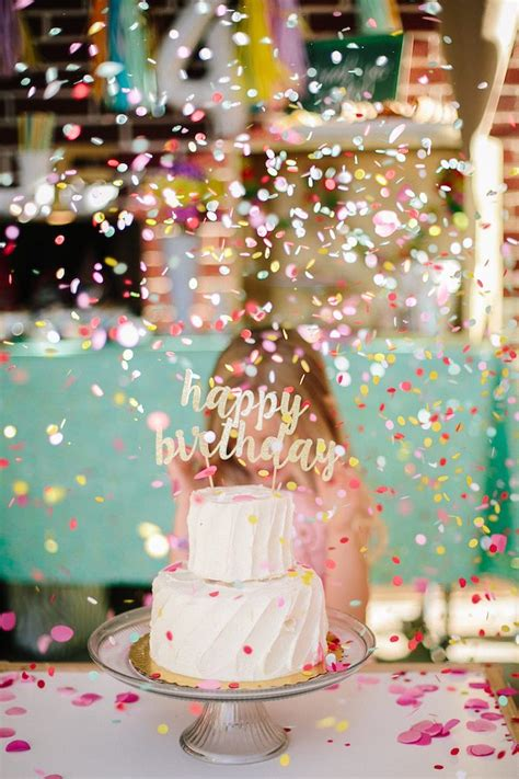 Kara's Party Ideas Confetti Inspired Ice Cream Birthday