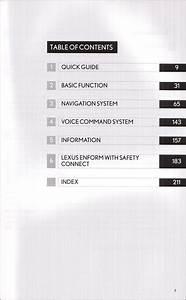2013 Lexus Ls 600h L    Ls 460    Ls 460 L Navigation System