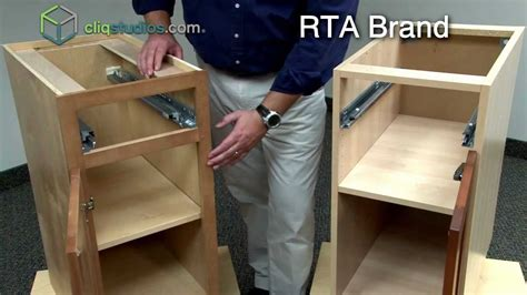 ready to assemble cabinets cliqstudios vs ready to assemble cabinets rta cabinets