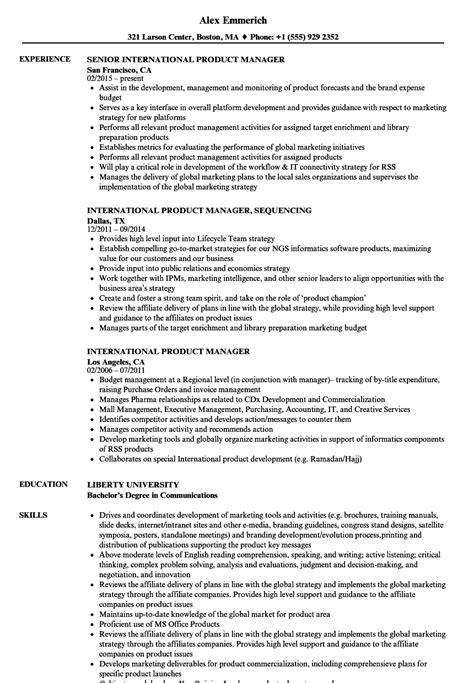 international resume sles toreto co