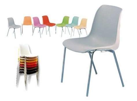chaise salle des fetes chaise coque plastique empilable à fenouillet meubles