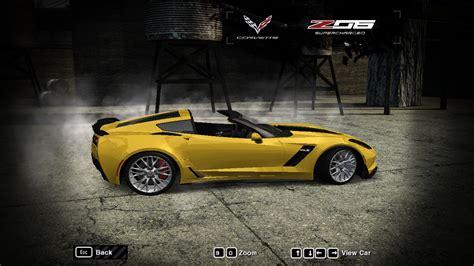 speed  wanted chevrolet corvette